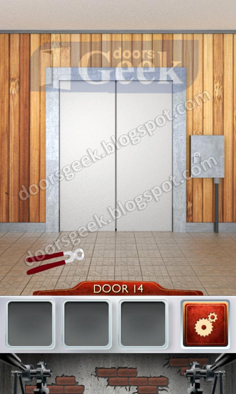 100 Doors 2 Level 14 Doors Geek