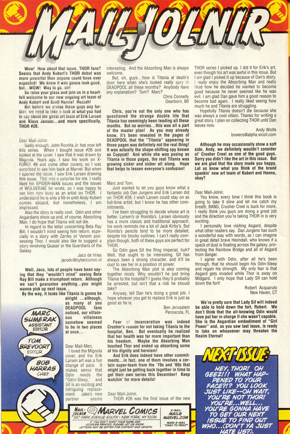 Thor (1998) Issue #29 #30 - English 24