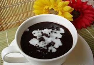 cara membuat bubur ketan hitam dan kacang hijau, cara membuat bubur ketan hitam manis, cara membuat bubur ketan hitam yang enak, Bubur, Bubur Ketan Hitam,