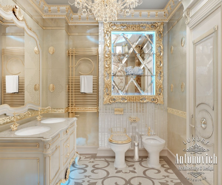 Luxury antonovich design uae 2016 Bathroom interior design 2016