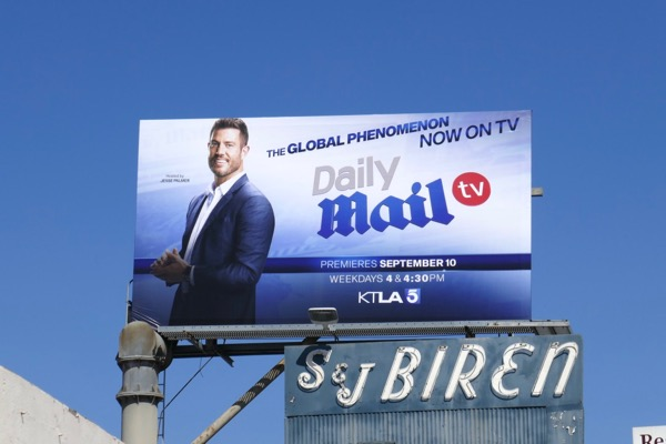 Daily Mail TV billboard