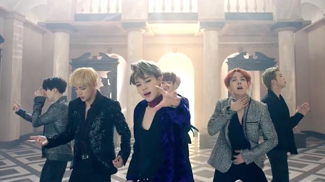di MV 'Blood Sweat & Tears' Pesona Memukau BTS Akhirnya Kembali