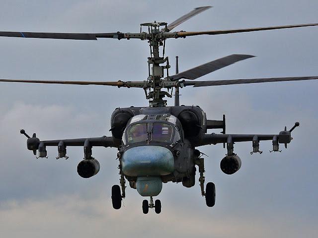 Gambar 12. Foto Helikopter Tempur Kamov Ka-52 Alligator
