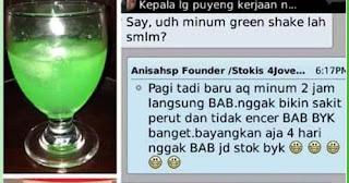 Testi Green Shake 4Jovem