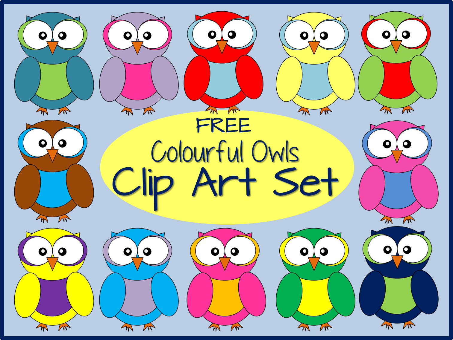 http://www.teacherspayteachers.com/Product/FREE-Owl-Clip-Art-1399227
