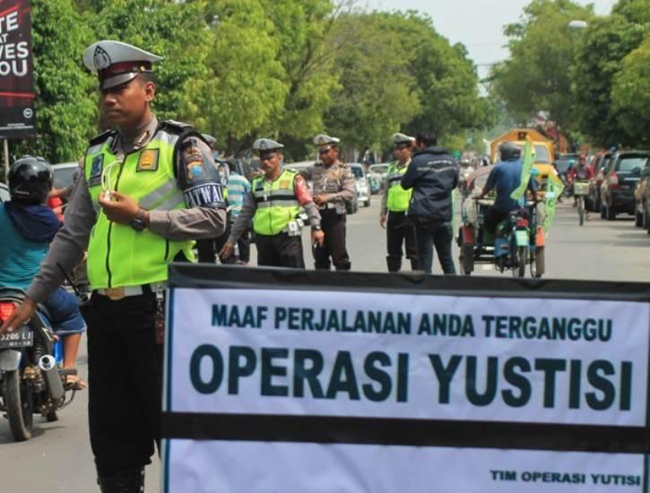 Pol PP Ngawi Gelar Operasi Yustisi