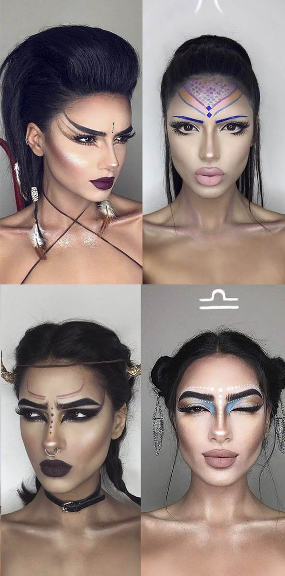 This makeup artist created a look for every star sign and they're ALL incredible
