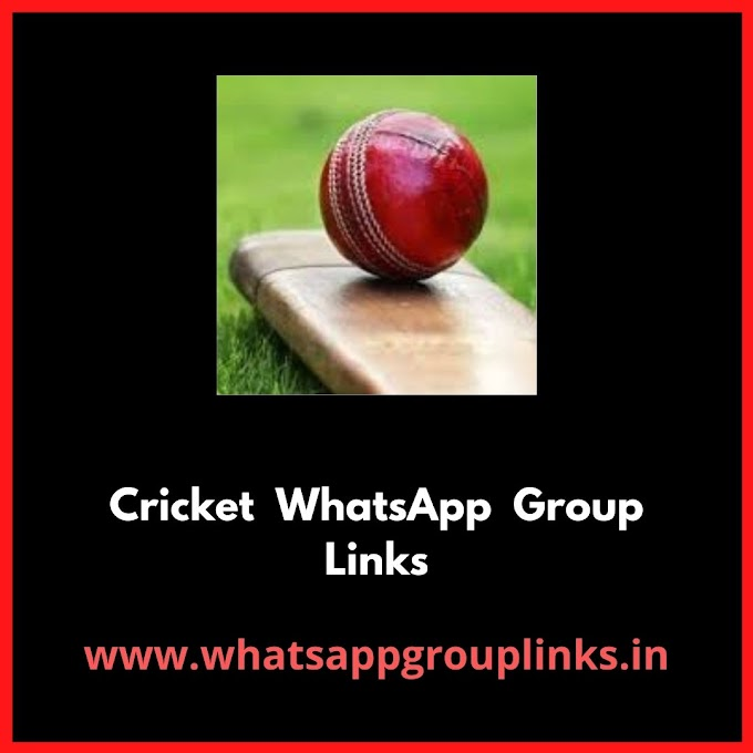 Join Cricket Whatsapp Group Links.