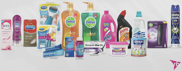 Lazada Malaysia Voucher Code for Reckitt Benckiser RB Products Discount Promo