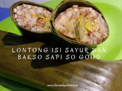 Resep Lontong Isi Sayur Dan Bakso Sapi