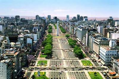 Aleja 7 lipca w Argentynie ciekawostka o Ameryce Łacińskiej