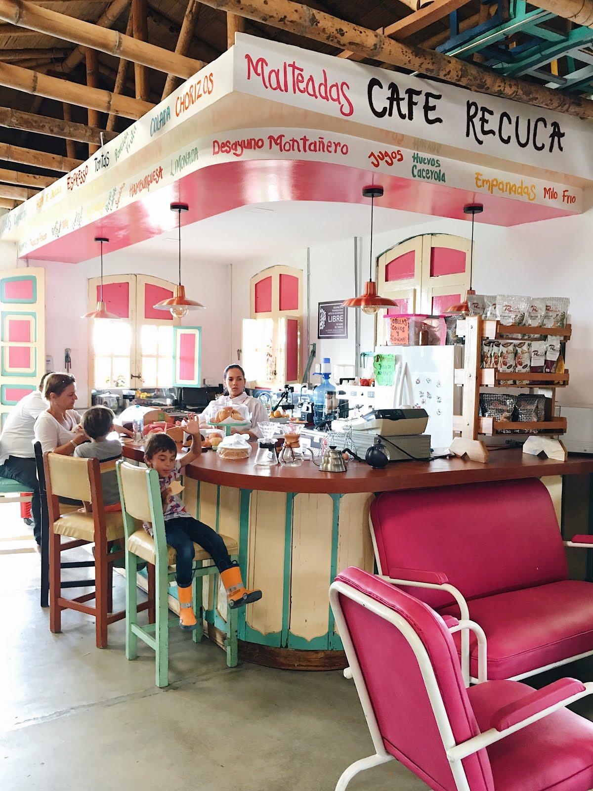 recuca restaurant, colombian restaurants, recuca colombia, coffee tour colombia