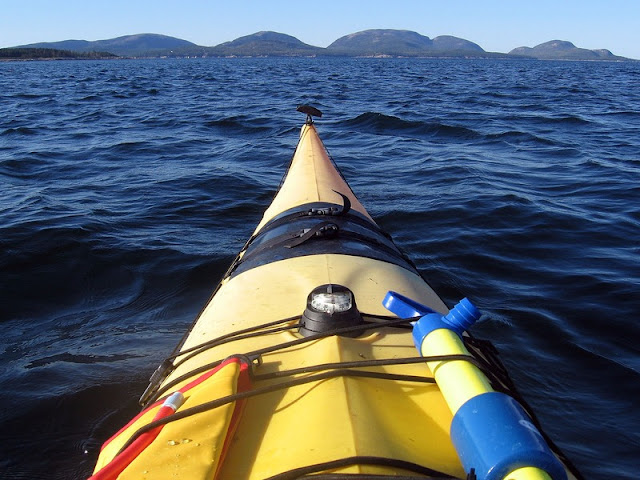 Kayaking At Acadia National Park
