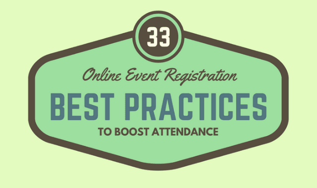33 Best Practices for Boosting Online Event Registration
