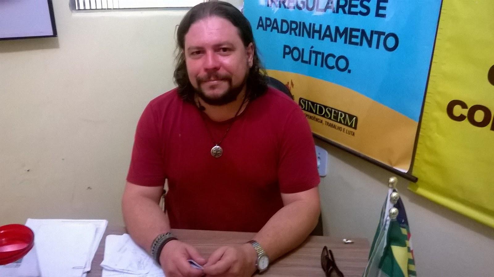 Elton Arruda, presidente da CTB-PI, convoca para marcha a Brasília