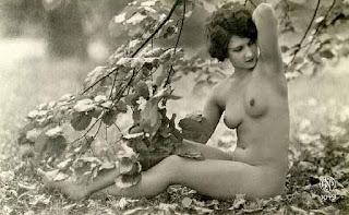 Mujer Foto Artistica Desnudo Antiguo