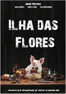 Ilha das Flores (1989), Capa do filme