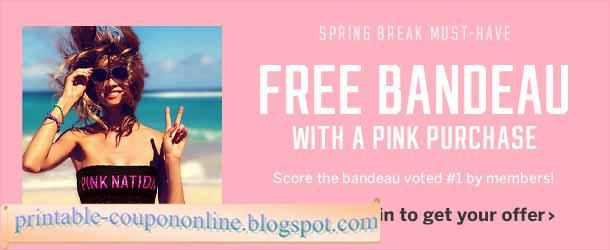 Victoria secret online coupons 2018