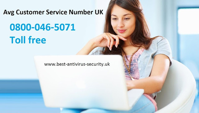 AVG Support Number UK