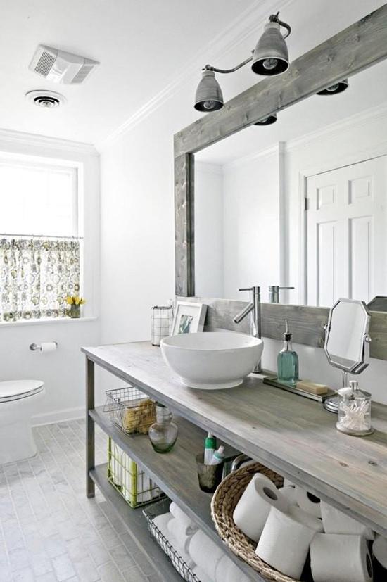 kamar mandi unik bergaya scandinavian