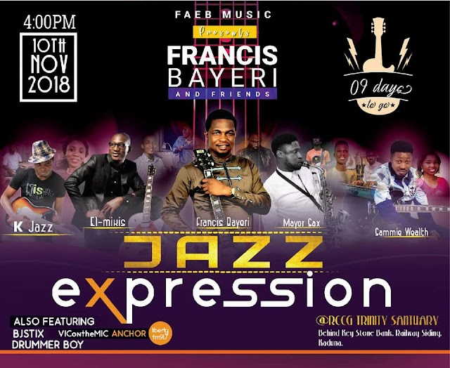 Concert: Jazz Expression Hosted By Francis Bayeri