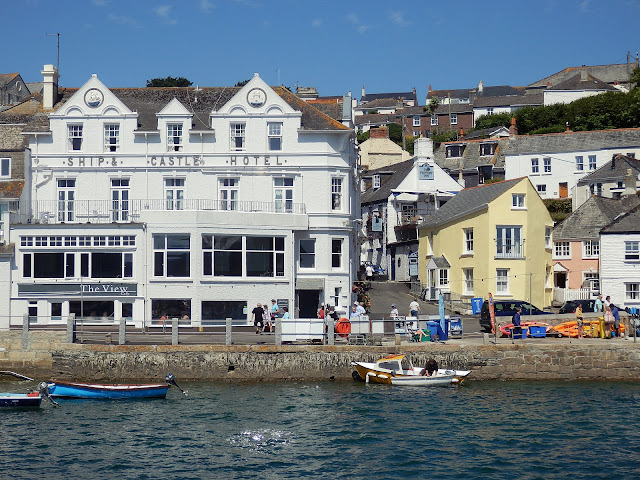 St.Mawes looking from the river