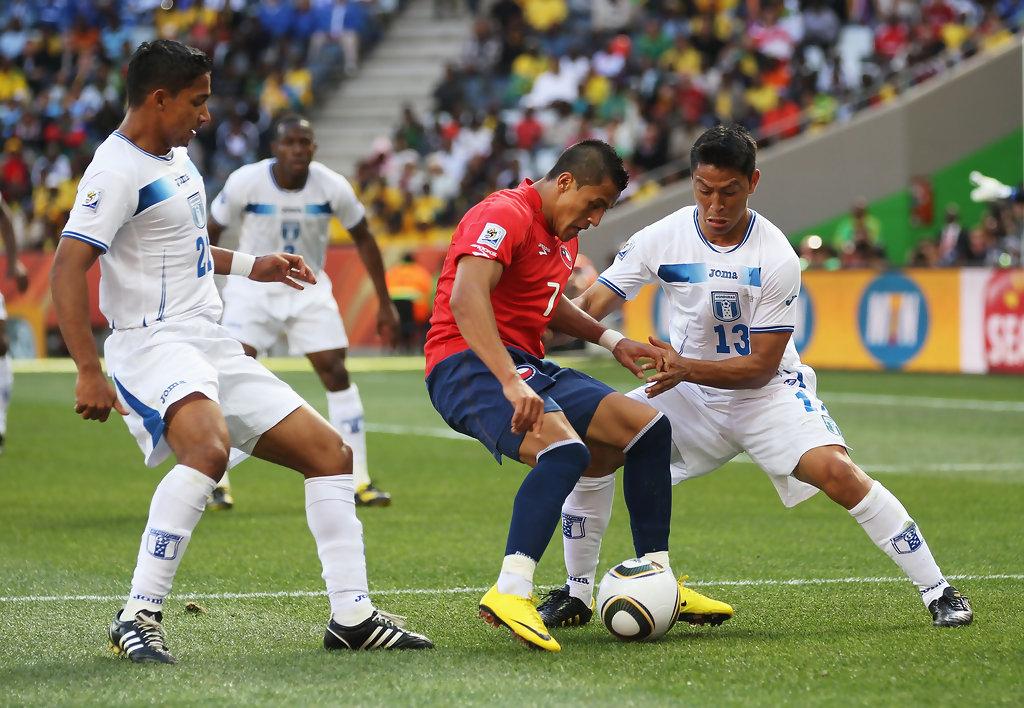 Honduras y Chile en Copa del Mundo Sudáfrica 2010, 16 de junio