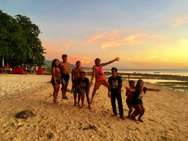 JCK Designs Staff at Lambug Beach Sunset Badian Cebu South