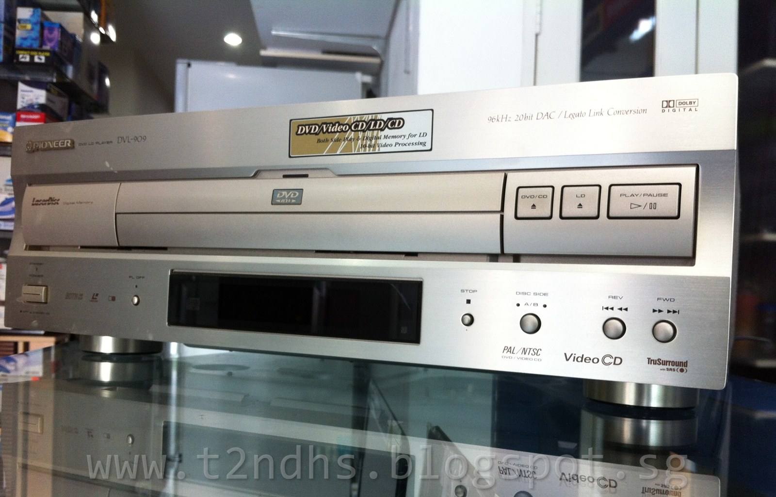 The 2nd Hand Shop Pioneer Dvd Vcd Ld Player
