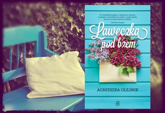"""""""Ławeczka pod bzem"""" Agnieszka Olejnik"""