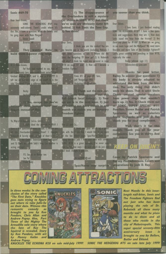 Read online Sonic The Hedgehog comic -  Issue #74 - 30