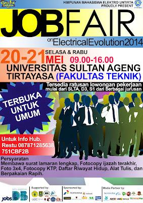 Job Fair On Electrical Evolution (E-VO) 2014