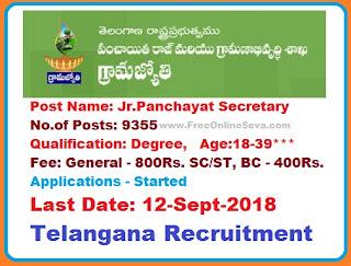 9355 panchayat secretary