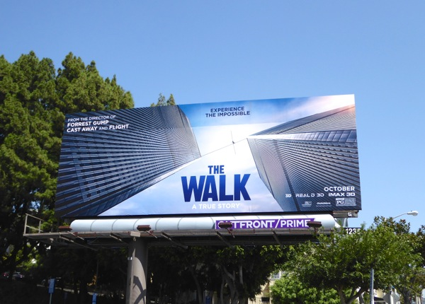 The Walk movie billboard