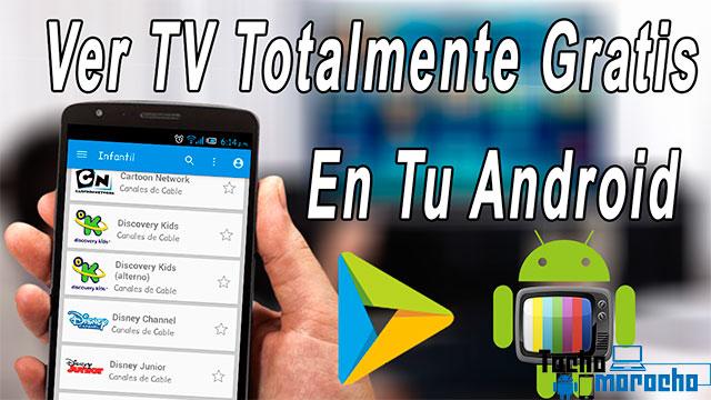 aplicación para ver TV desde tu Android