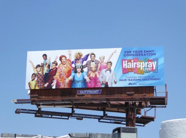 Hairspray Live Emmy FYC billboard