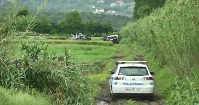 A Kosovar is burned in his car in Fushe Kruja
