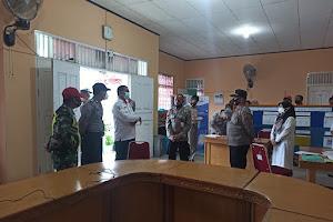 Kunjungan Tim Polda Sumatera Barat ke Posko PPKM Desa Santua