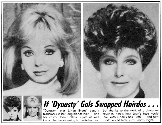 Dynasty: If Dynasty Gals Swapped Hairdos...