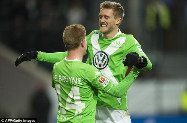 Cầu thủ Schurrle đang dần lấy lại phong độ trong màu áo đội bóng Wolfsburg