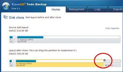 Clonando o HD com o programa gratuito e intuitivo EaseUS Todo Backup Free
