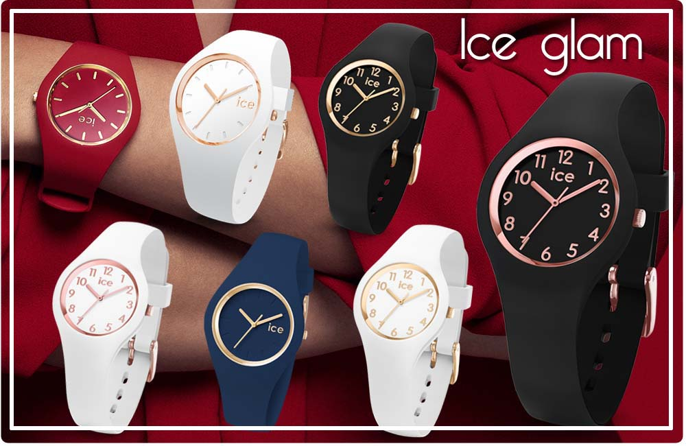 Ice watch white rose-gold