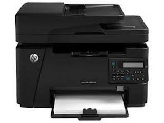 Picture HP LaserJet Pro MFP M127fn Printer