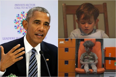 Barack Obama Shares Video of Child
