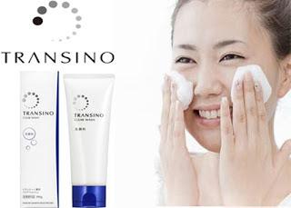 Sữa rửa mặt transino clear wash Nhật Bản