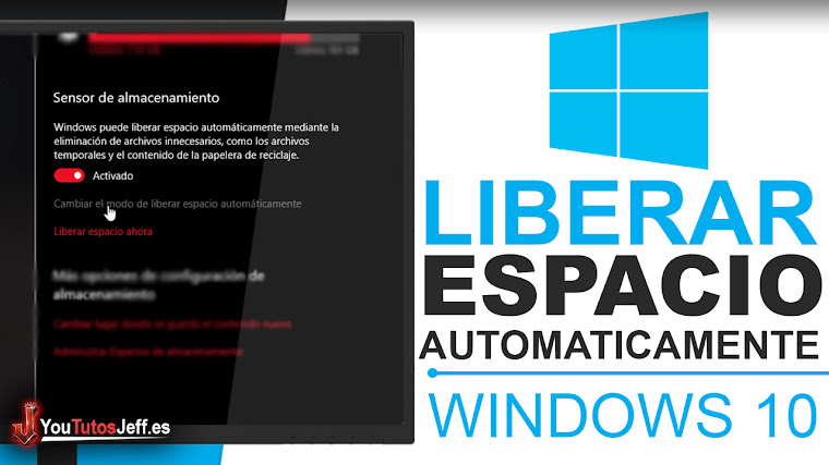 Liberar Espacio Automáticamente Windows 10 - Trucos Windows 10