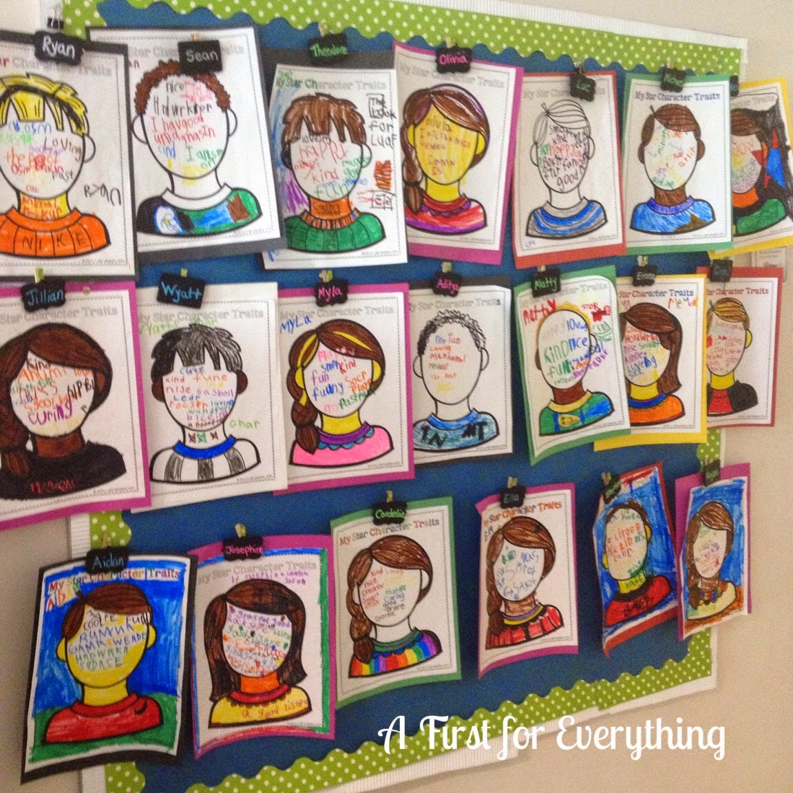 A First For Everything Pumpkins Character Traits