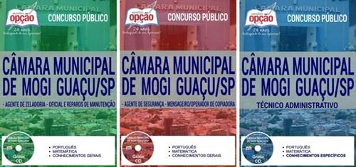 Apostila Câmara de Mogi Guaçu SP 2017