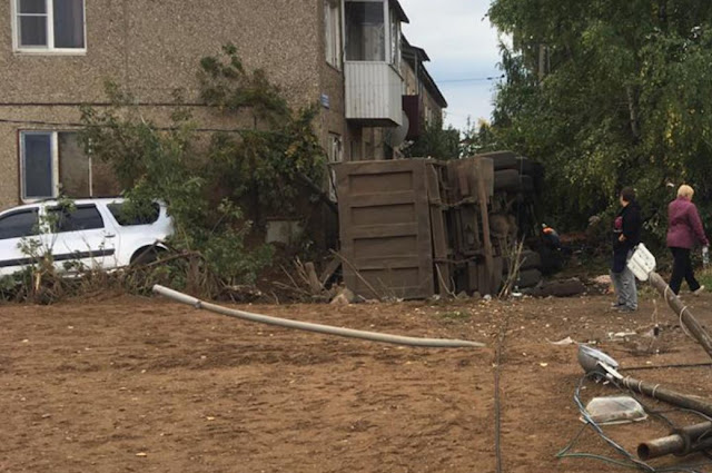 Авария с грузовиком в Башкирии: погиб ребенок