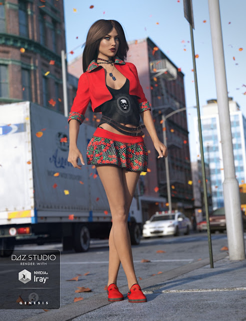 Urban Dweller Outfit for Genesis 3 Female